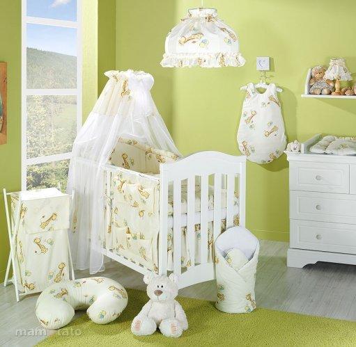 Mamo Tato Bērnu gultas veļas komplekts Premium no 4 daļām (60/100x135)