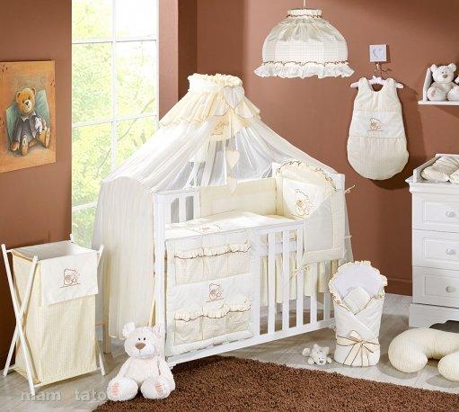 Mamo Tato Bērnu gultas veļas komplekts Premium no 5 daļām (70/100x135)