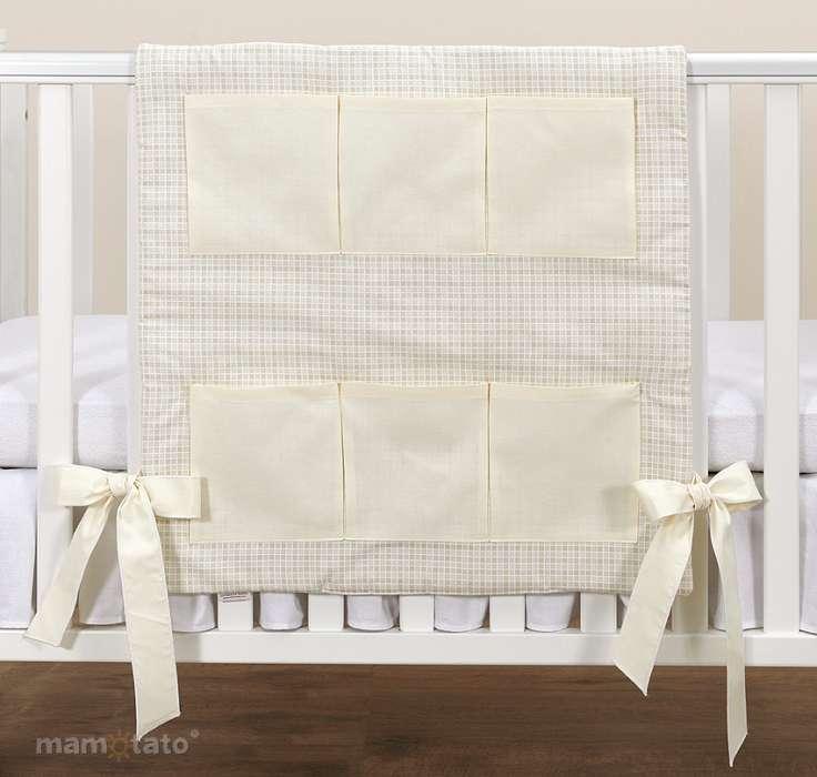 Mamo Tato Ecru Print Mantu kabata gultiņai (60x60 cm)