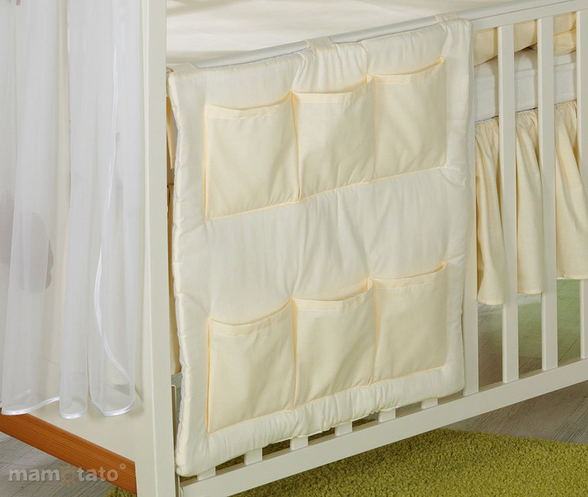 Mamo Tato Heart Col. Cremie Mantu kabata gultiņai (60x60 cm)