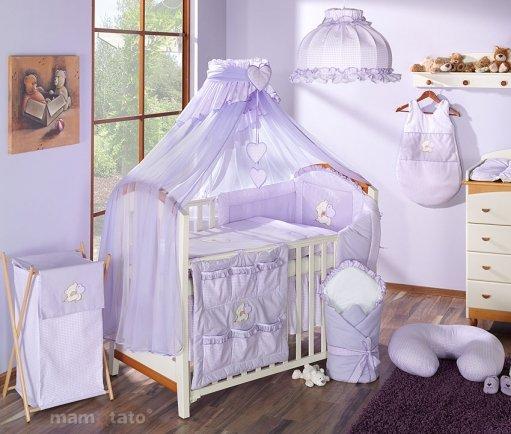 Mamo Tato Kokvilnas gultas veļas komplekts Lācis no 2 daļām