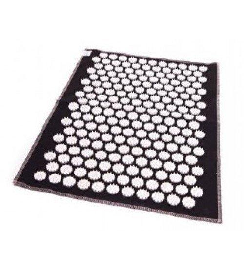 Masāžas akupresūras paklājs ar adatām Igora AIR 55 x 40 cm Black