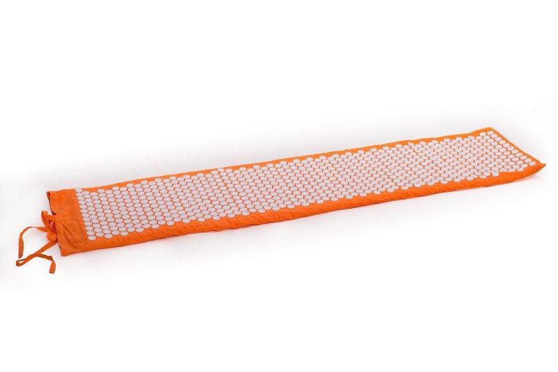 Masāžas akupresūras paklājs ar adatām Igora RELAX Maxi 165x40 cm Orange