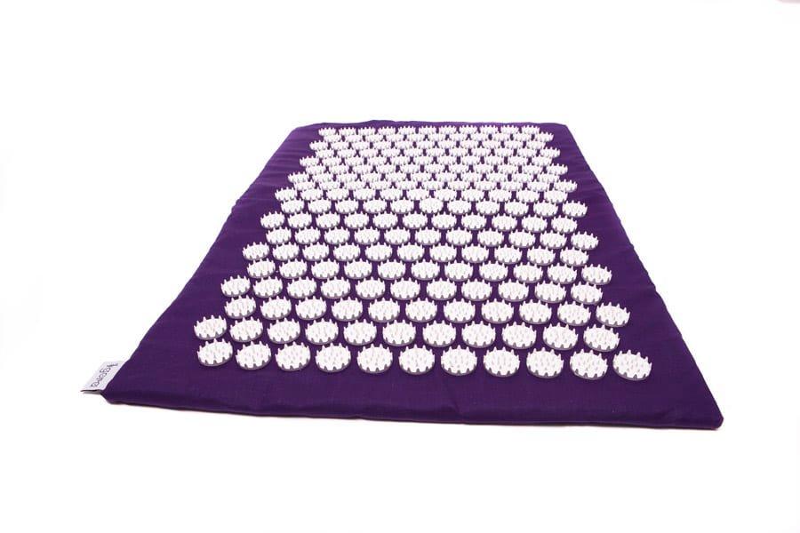 Masāžas akupresūras paklājs ar adatām Igora RELAX medium 70х40 cm Purple
