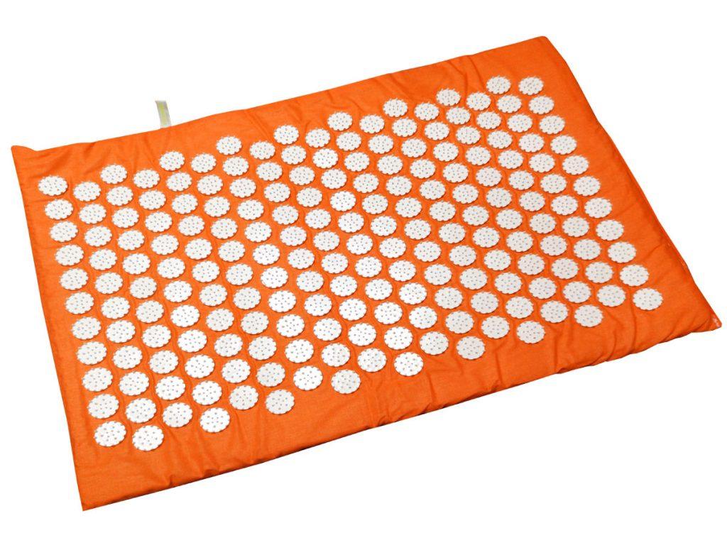 Masāžas akupresūras paklājs ar adatām Igora RELAX mini 55 x 40 cm Orange
