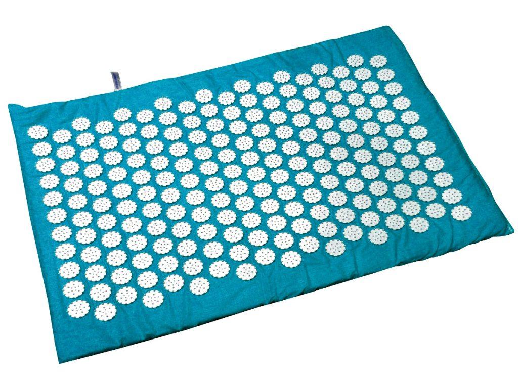 Masāžas akupresūras paklājs ar adatām Igora RELAX mini 55 x 40 cm Turquoise