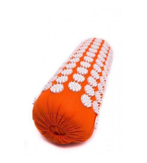 Masāžas akupresūras veltnis ar adatām 38х13 cm Orange