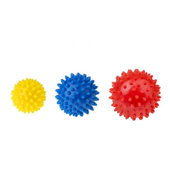 Masāžas bumbu komplekts Ezīši: 3 gb. TULLO-406