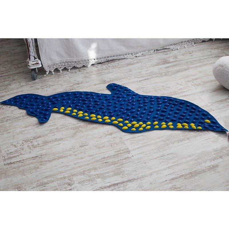 Masāžas paklājiņš ar akmeņiem Igora FOOT MAT Dolphin 150 x 40 cm