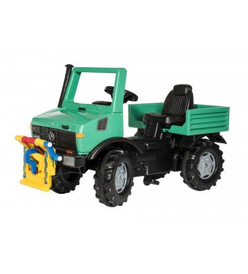 Mašīna ar pedāļiem un vinču Rolly Toys rollyUnimog Forst 038206