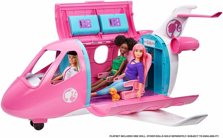 Mattel Barbie Dreamplane Playset Lidmašīna