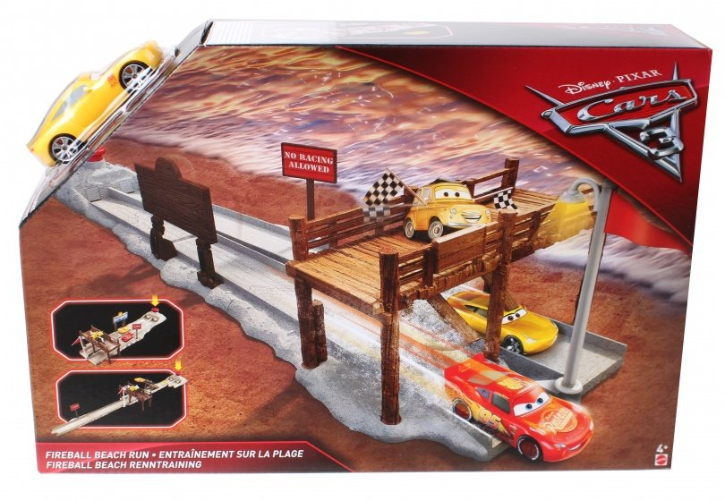 Mattel Cars 3 Fireball Run Beach throwing DVT46 Auto trase
