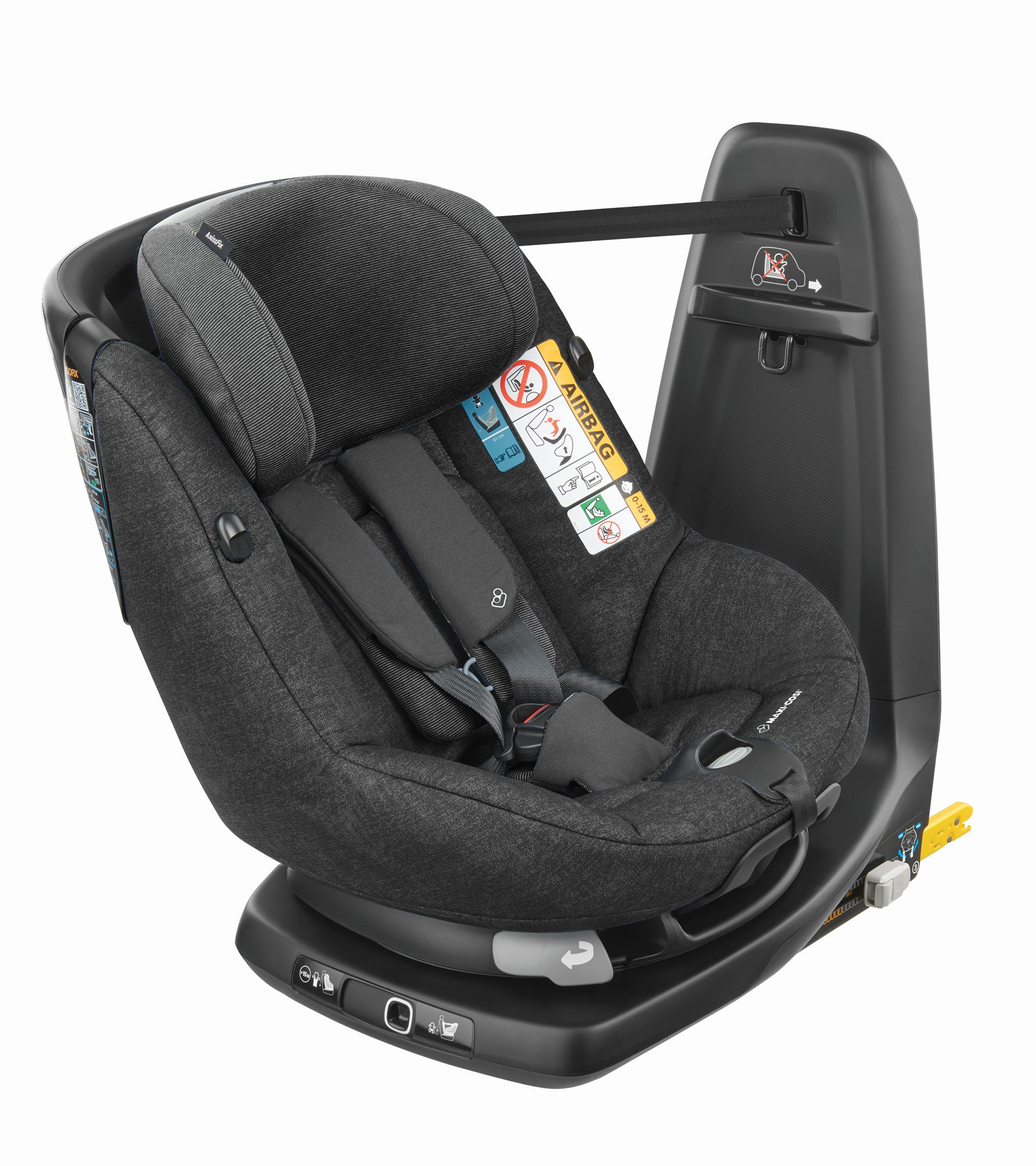 MAXI COSI AxissFix Nomad Black Bērnu autosēdeklis 9-18 kg