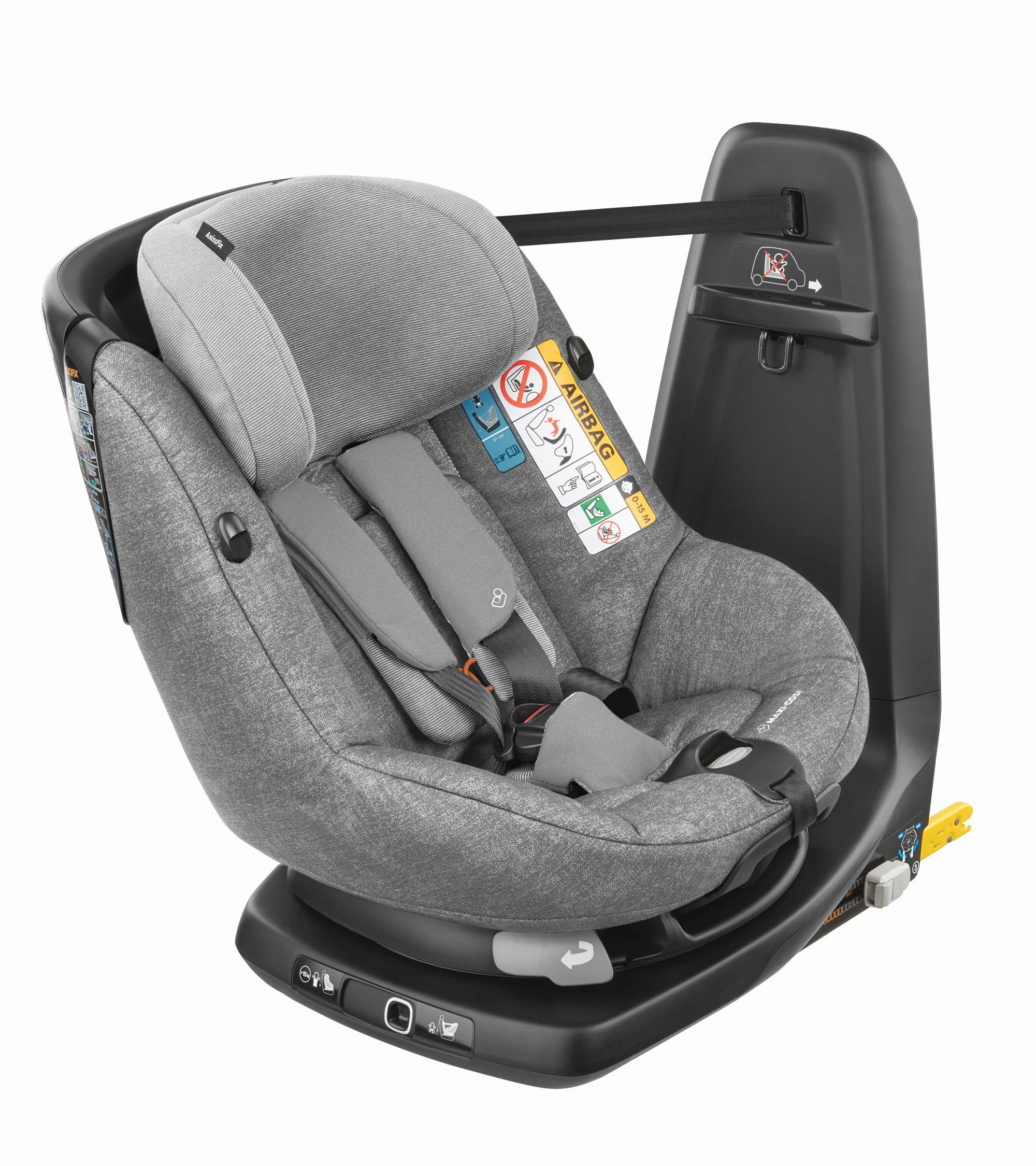 MAXI COSI AxissFix Nomad Grey Bērnu autosēdeklis 9-18 kg