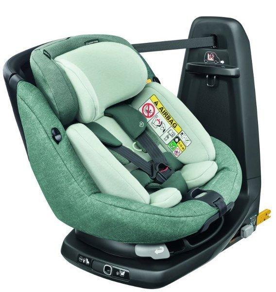 MAXI COSI AxissFix Plus Nomad Green Bērnu autosēdeklis 0-18 kg