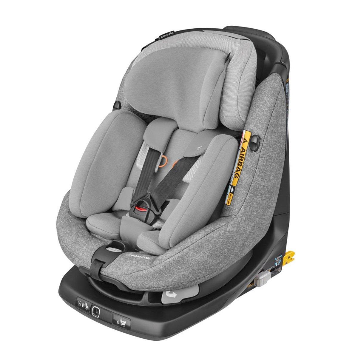 MAXI COSI AxissFix Plus Nomad Grey Bērnu autosēdeklis 0-18 kg