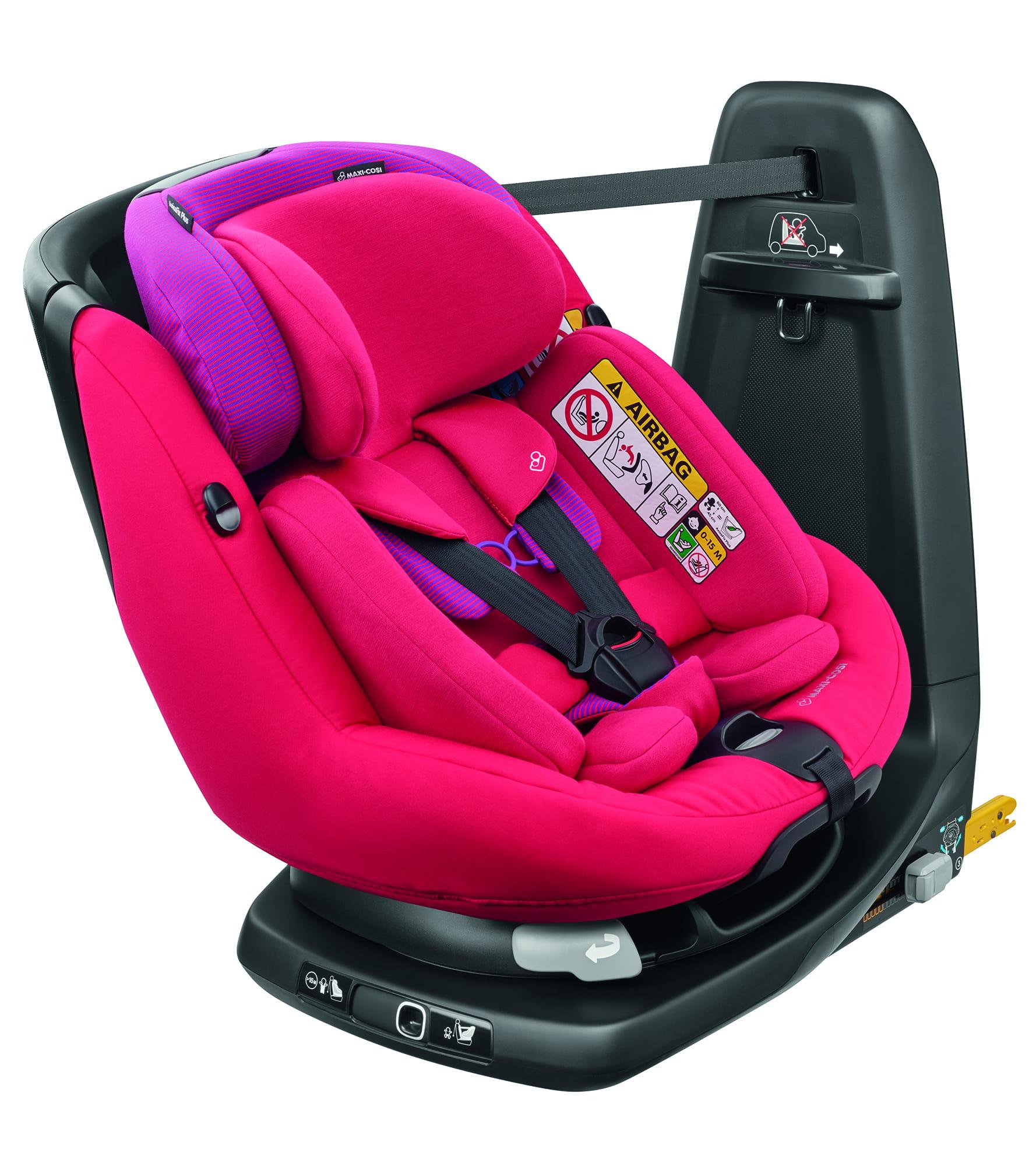 MAXI COSI AxissFix Plus Red Orchid Bērnu autosēdeklis 0-18 kg