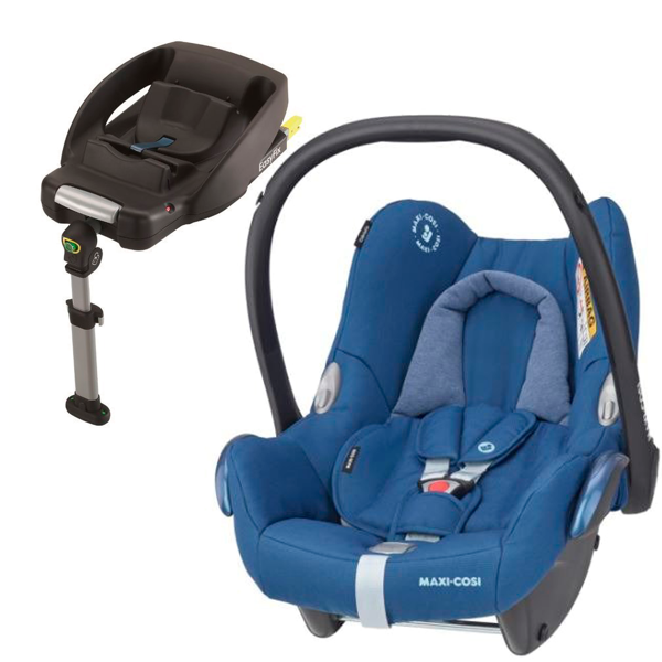MAXI COSI CABRIOFIX Essential Blue Bērnu autosēdeklis 0-13 kg + Familyfix bāze