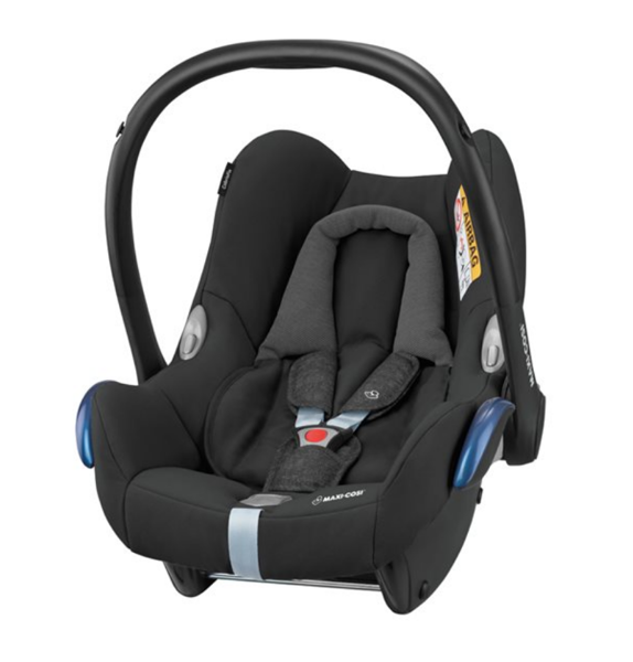 MAXI COSI CABRIOFIX Nomad Black Bērnu autosēdeklis 0-13 kg