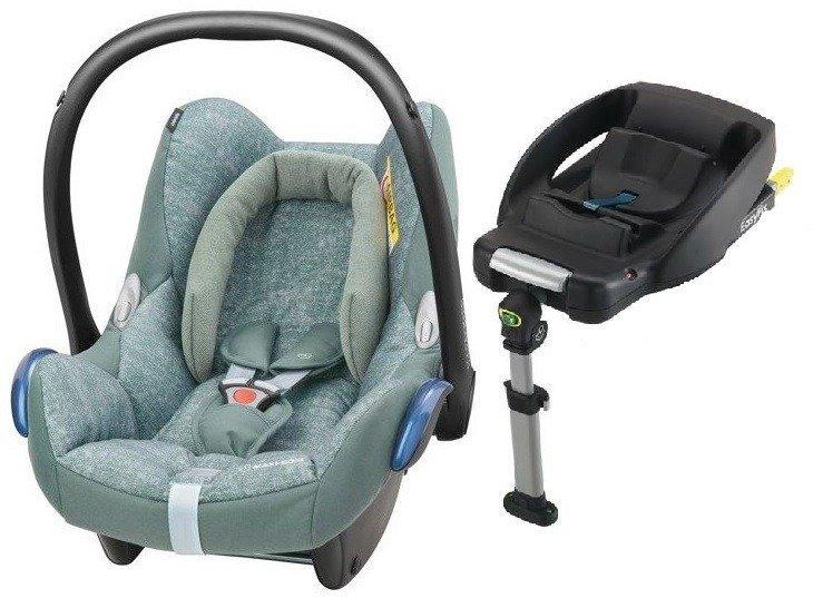 MAXI COSI CABRIOFIX Nomad Green Bērnu autosēdeklis 0-13 kg + Familyfix bāze