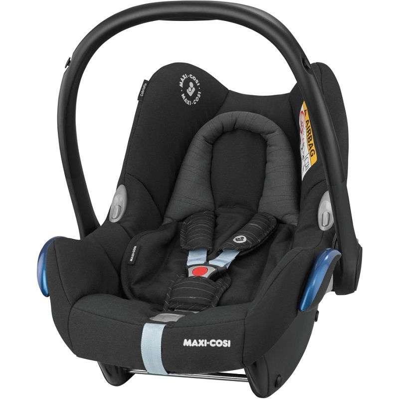 MAXI COSI CABRIOFIX Scribble Black Bērnu autosēdeklis 0-13 kg