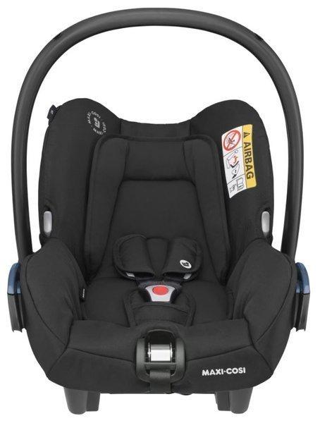 MAXI-COSI Citi Essential black Bērnu autosēdeklis 0-13 kg