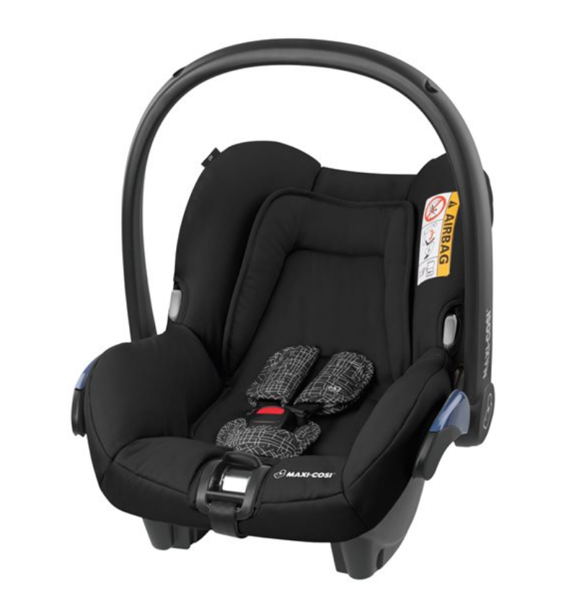 MAXI-COSI Citi Scribble black Bērnu autosēdeklis 0-13 kg