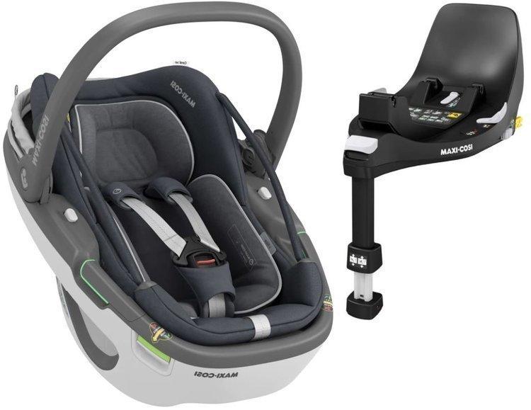 Maxi Cosi Coral 360 Essential graphite Bērnu autosēdeklis 0-13 kg + Familyfix 360 bāze