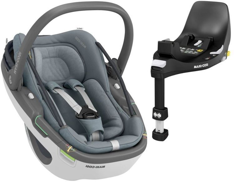 Maxi Cosi Coral 360 Essential grey Bērnu autosēdeklis 0-13 kg + Familyfix 360 bāze