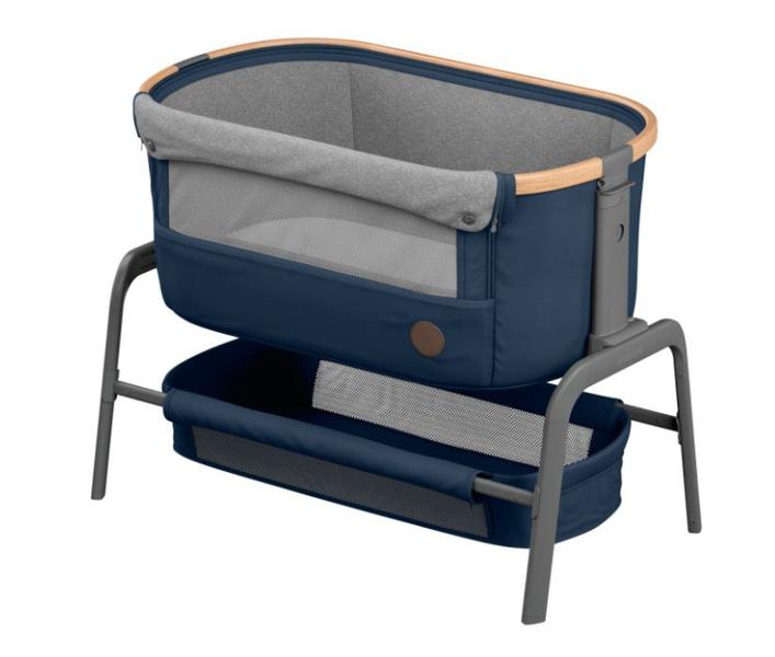 Maxi Cosi Iora 2in1 Essential Blue Bērnu gulta-šūpulis