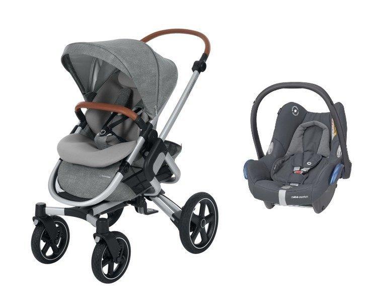 MAXI-COSI Nova 4 Nomad Grey Sporta rati + Cabriofix 0-13 kg