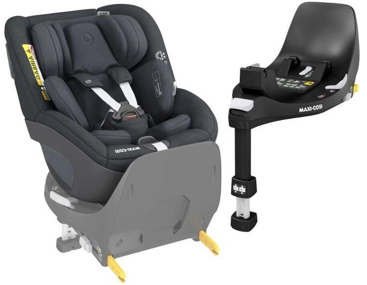Maxi Cosi Pearl 360 Authentic graphite Bērnu autosēdeklis 0-18 kg + Familyfix bāze