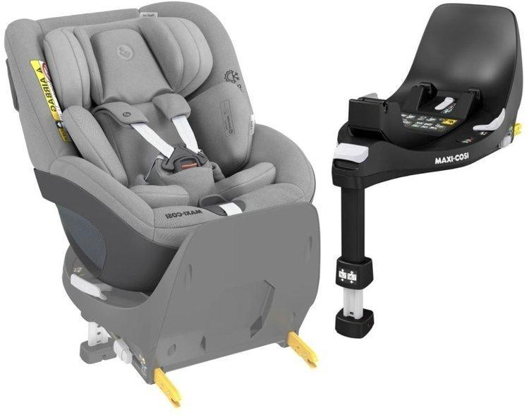 Maxi Cosi Pearl 360 Authentic grey Bērnu autosēdeklis 0-18 kg + Familyfix bāze