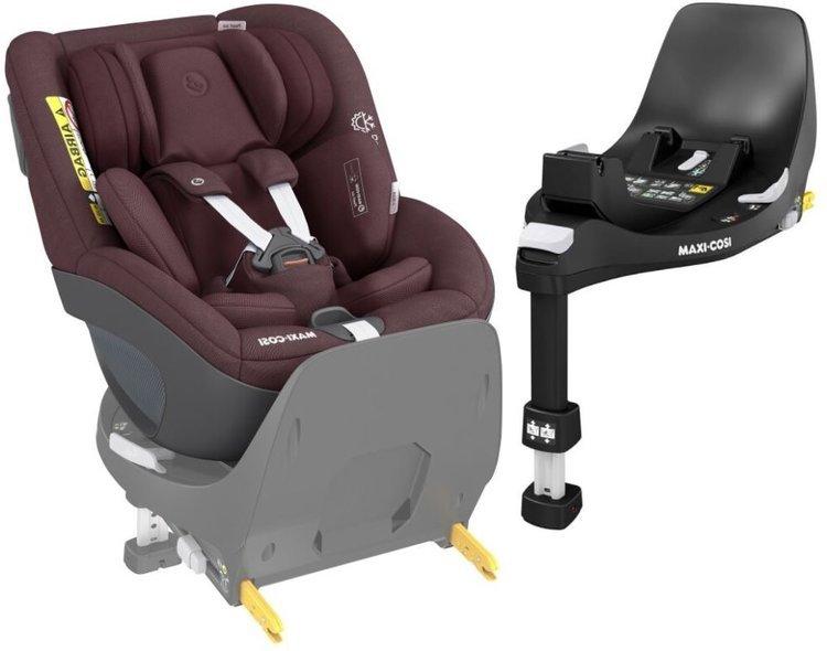 Maxi Cosi Pearl 360 Authentic red Bērnu autosēdeklis 0-18 kg + Familyfix bāze