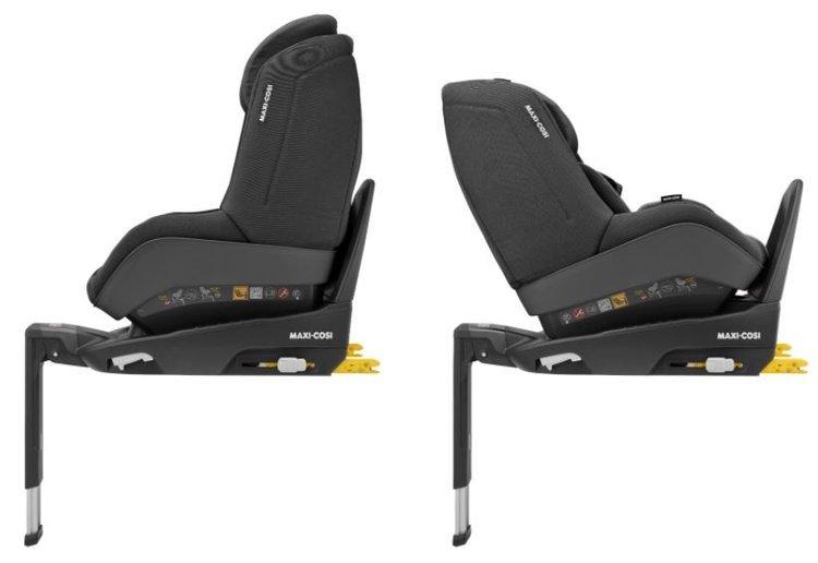 Maxi Cosi Pearl Pro 2 Authentic black Bērnu autosēdeklis 0-18 kg + Familyfix3 bāze