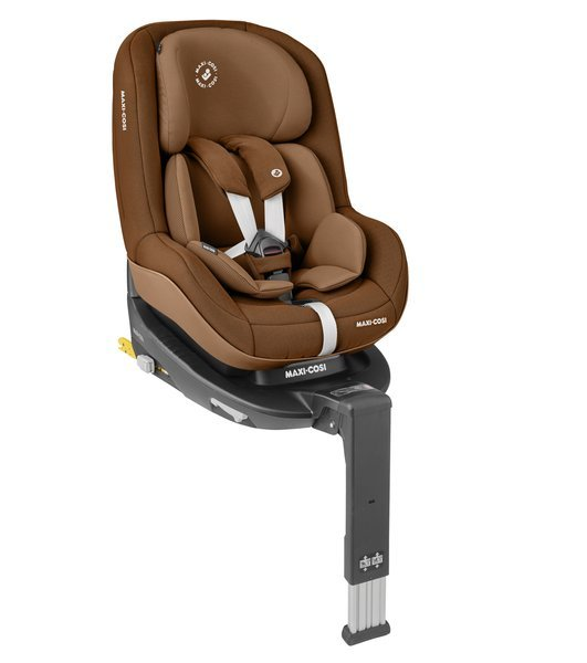 Maxi Cosi Pearl Pro 2 i-Size Authentic cognac Bērnu autosēdeklis 0-18 kg + Familyfix2 bāze