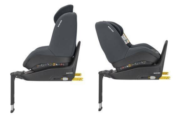 MAXI COSI Pearl Smart i-Size Authentic graphite Bērnu autosēdeklis 0-18 kg + Familyfix2 bāze
