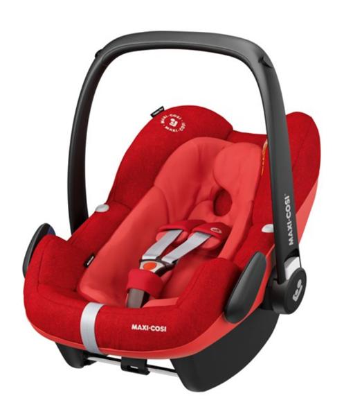 Maxi Cosi Pebble Plus Nomad red Bērnu autosēdeklis 0-13 kg