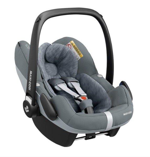 Maxi Cosi Pebble Pro i-Size Essential grey Bērnu autosēdeklis 0-13 kg