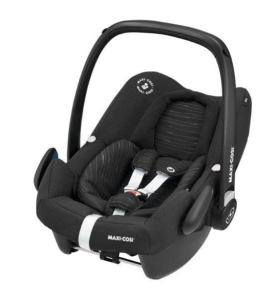 MAXI COSI Rock I-Size Scribble Black Bērnu autosēdeklis 0-13 kg