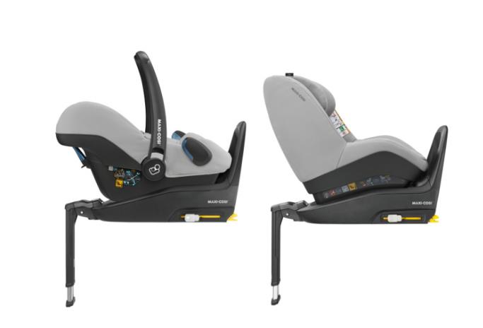 Maxi Cosi Rock Nomad Grey Bērnu autosēdeklis 0-13 kg + Familyfix2 bāze