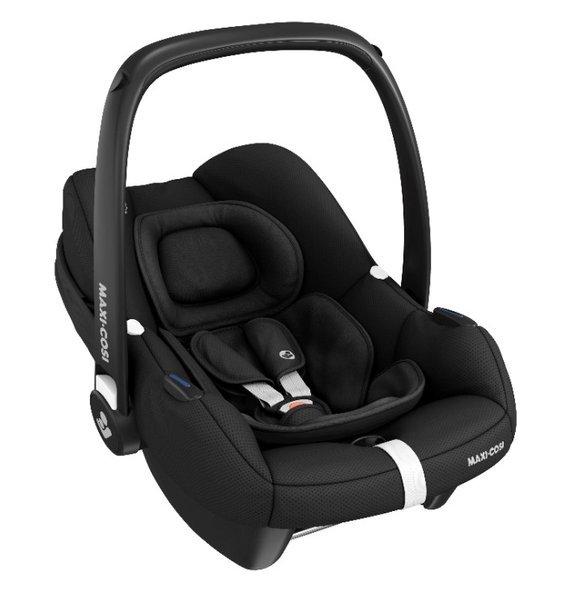 Maxi Cosi Tinca i-Size Essential Black Bērnu autosēdeklis 0-13 kg