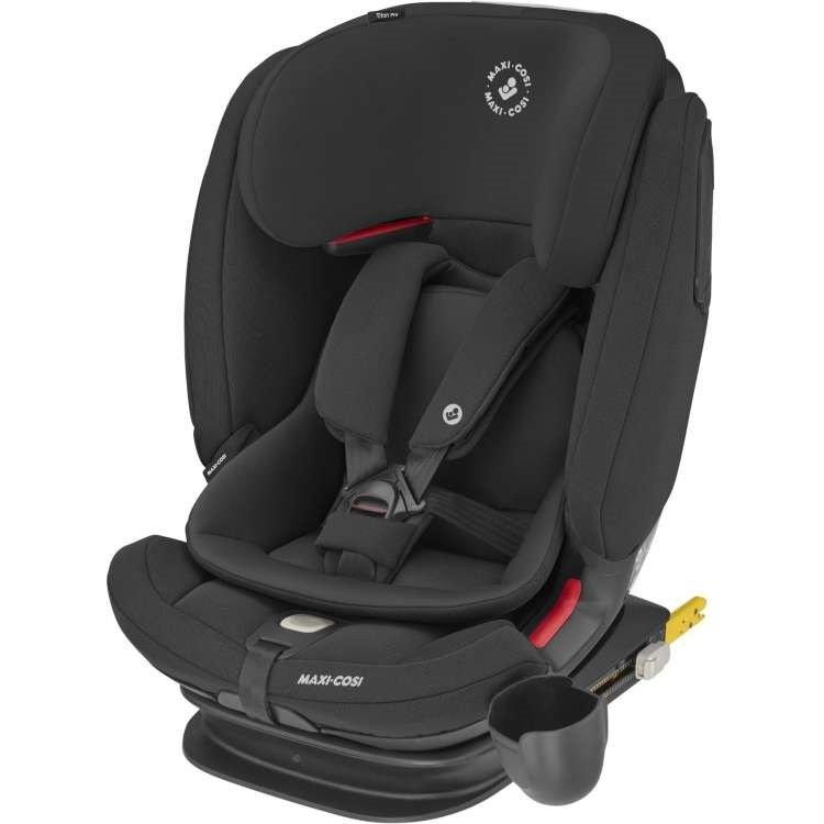 MAXI COSI Titan Pro Authentic Black Bērnu autosēdeklis 9-36 kg