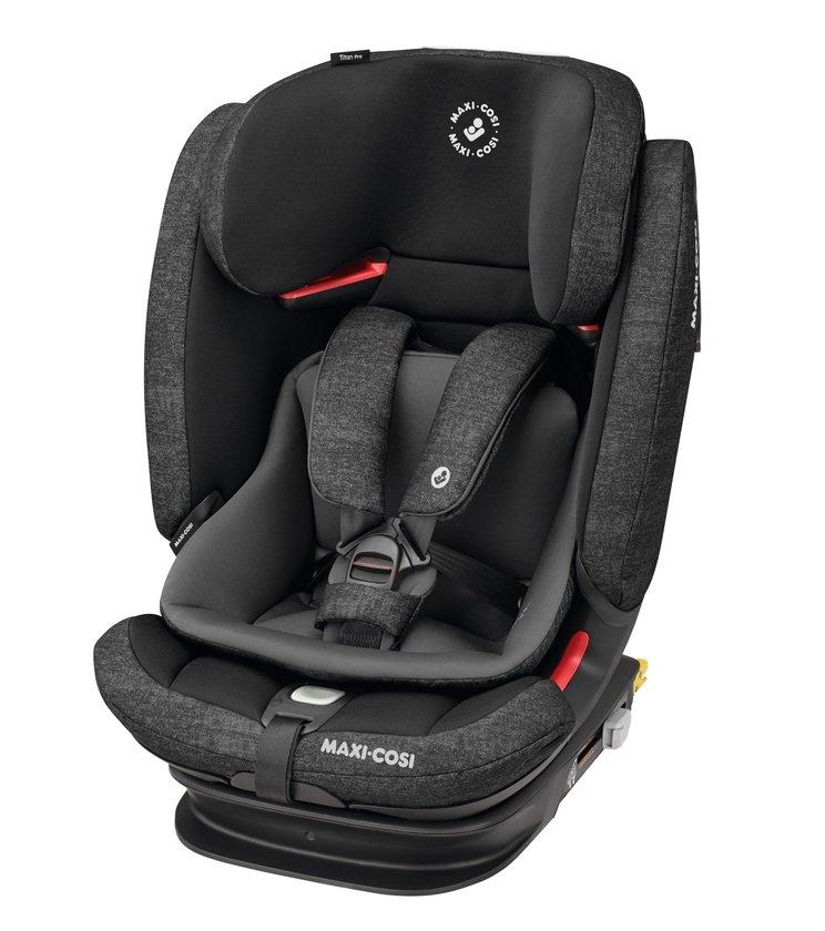 MAXI COSI Titan Pro Nomad Black Bērnu autosēdeklis 9-36 kg