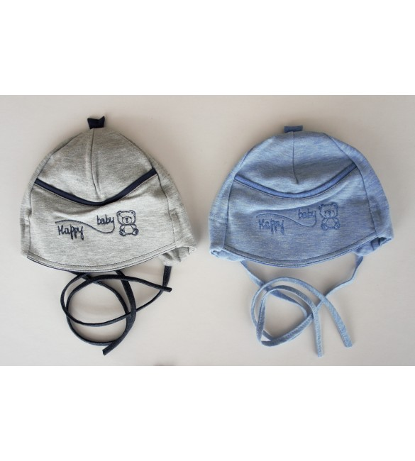 Mazuļu kokvilnas cepure Happy Baby ILTOM 0535