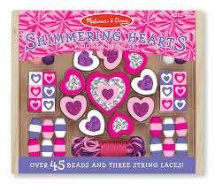 Melissa Doug  Beads Sets Koka pērlītes