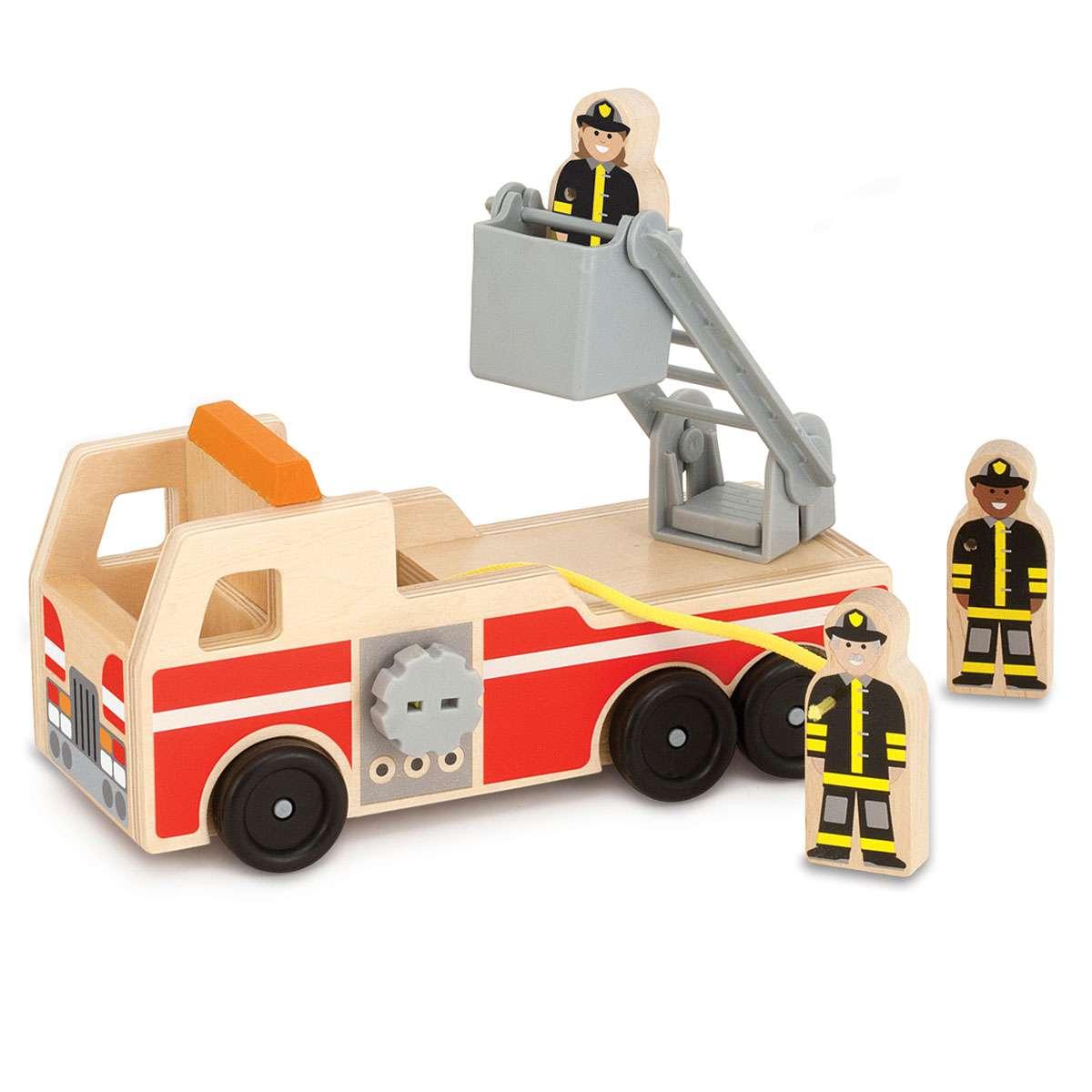 Melissa&Doug Fire Engine Koka Ugunsgrēku mašīna