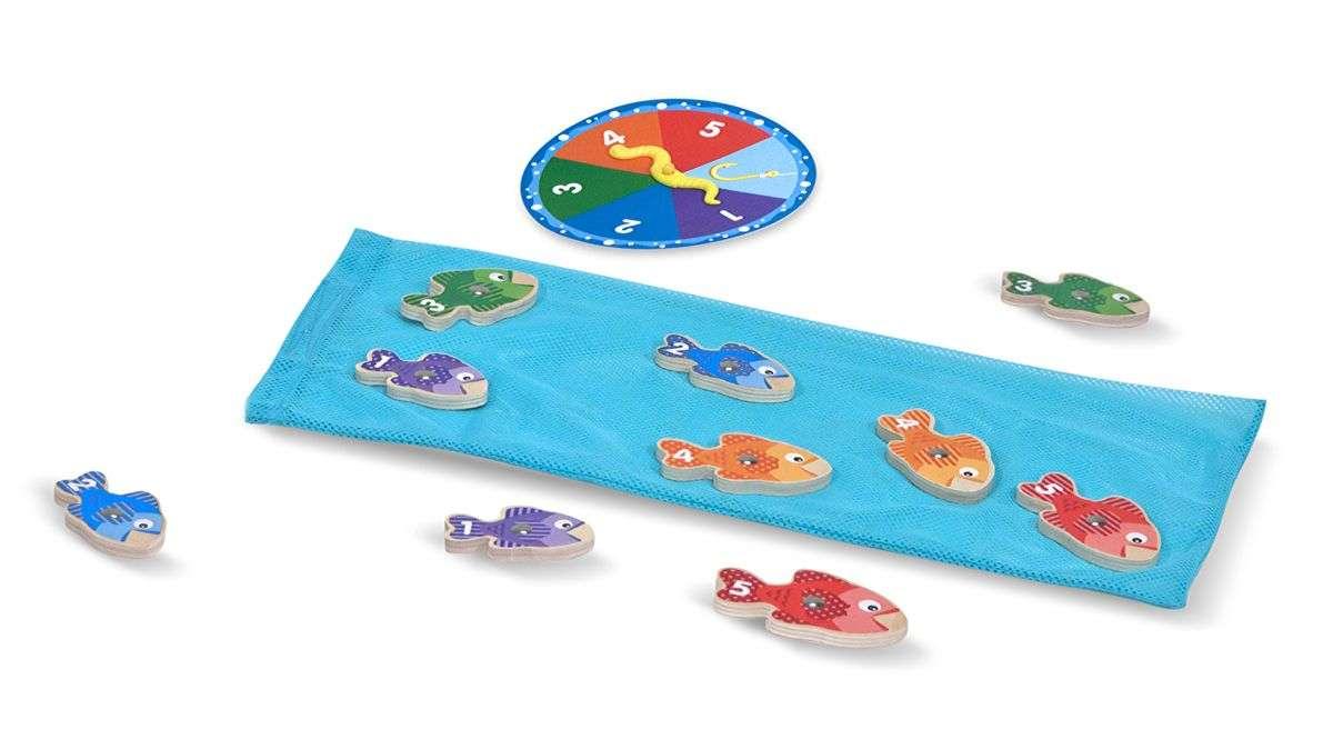 Melissa&Doug Fishing Game Komplekts zivs ar magnētiem