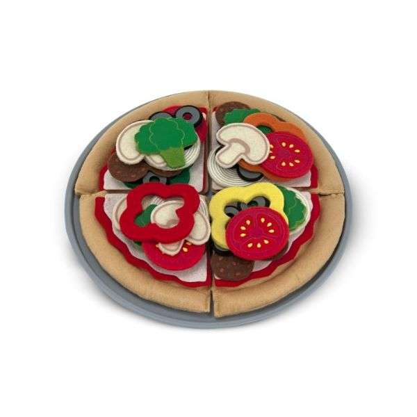 Melissa&Doug Pizza Komplekts Pica