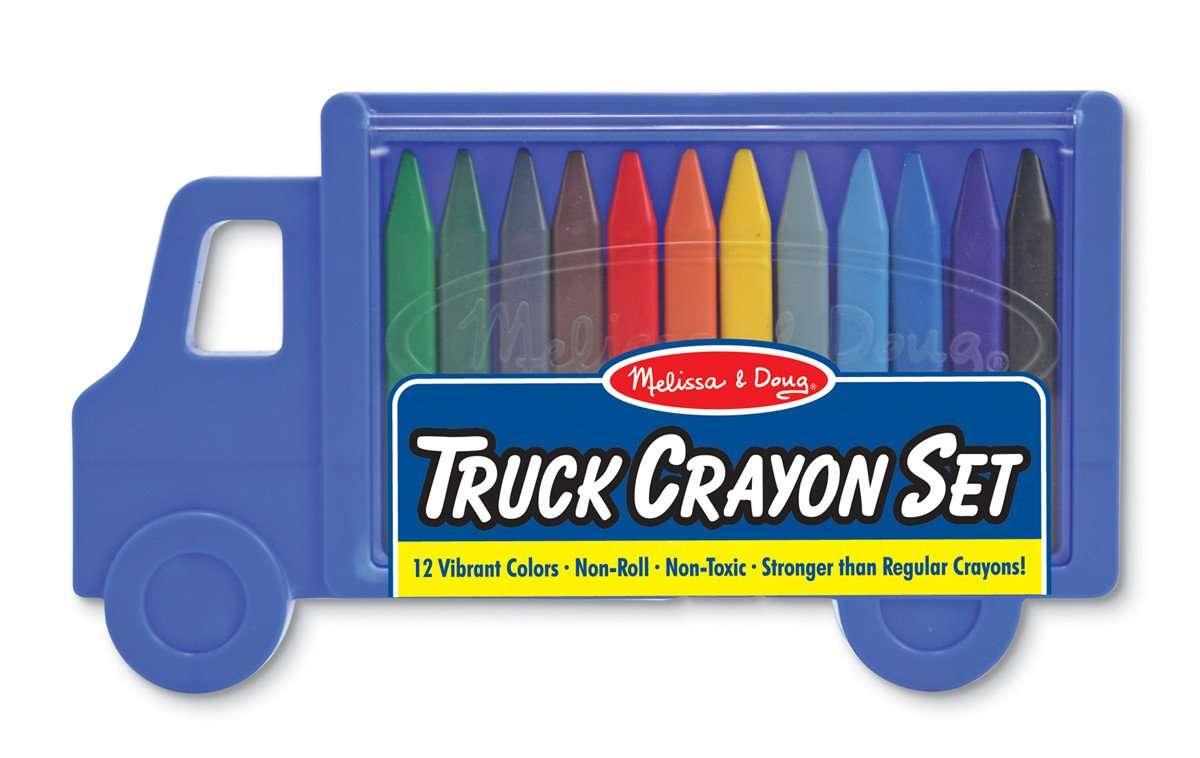 Melissa&Doug Princess Crayons Krāsainie krīti 12 gab